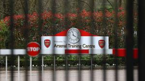 Arsenal's training ground has been closed since last week. (Bradley Collyer/PA)