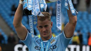 Joe Hart has won the Premier League twice with Manchester City