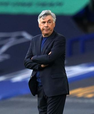 Ancelotti belives Baines can play a key role in the development of young players (Jon Super/NMC Pool)