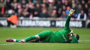 Fraser Forster has had surgery on his knee injury