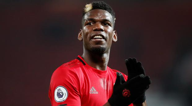 Paul Pogba was absent again from the Manchester United squad for their victory over Burnley (Martin Rickett/PA)