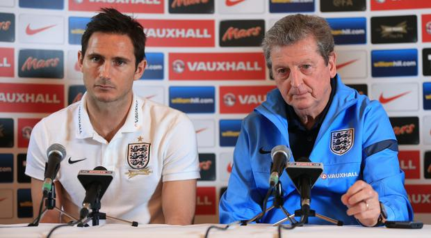 Roy Hodgson and Frank Lampard worked together in the England set up (Mike Egerton/PA)
