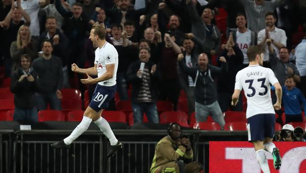 Harry Kane's goal for Tottenham ensured they will finish top of the pile in London