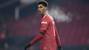 Marcus Rashford was the latest player to be targeted (Peter Powell/PA)