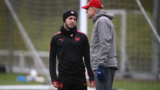 Arsene Wenger (right) was keen to keep Jack Wilshere at Arsenal