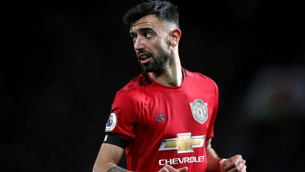 Bruno Fernandes caught the eye on his first appearance for Manchester United (Martin Rickett/PA)