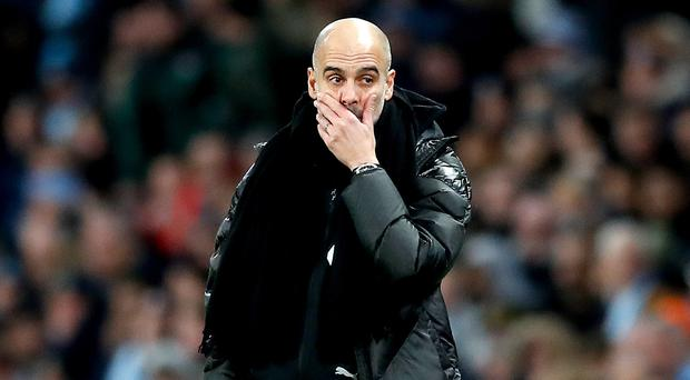Pep Guardiola represented Manchester City at their Christmas party on Thursday (Martin Rickett/PA)