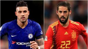 Emerson Palmieri and Isco are being linked with moves (Adam Davy/PA)