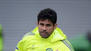 Chelsea and Spain forward Diego Costa has problematic hamstrings