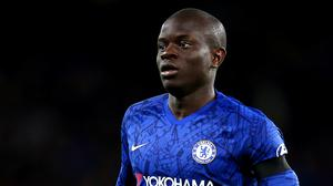 Chelsea midfielder N'Golo Kante missed training on Wednesday (Nigel French/PA)