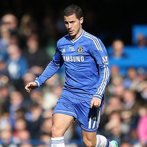 Eden Hazard will miss Chelsea's clash with Sunderland