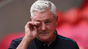 Steve Bruce has left Newcastle by mutual consent (Tim Goode/PA)