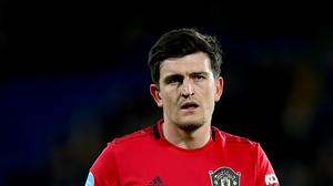 Manchester United's Harry Maguire is a derby doubt (Nigel French/PA)