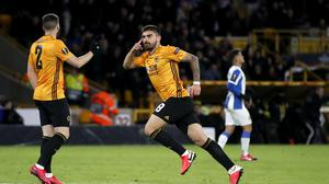 Ruben Neves is eager for the Premier League to return (Martin Rickett/PA)
