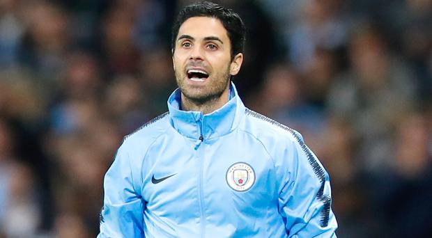 Mikel Arteta appears to be the leading contender for the Arsenal job (Martin Rickett/PA)