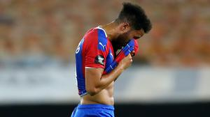 Crystal Palace have struggled since the Premier League resumed and have lost seven straight matches (Catherine Ivill/NMC Pool)