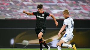 Toni Rudiger has revealed his part in Kai Havertz, pictured, mooted move to Chelsea (Sascha Schuermann/PA)