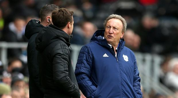 Neil Warnock's Cardiff are on the brink of relegation (Steven Paston/PA)
