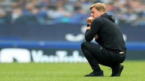 Bournemouth manager Eddie Howe was left to reflect on what might have been (Catherine Ivill/PA)