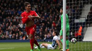 Roberto Firmino scored the only goal of the match for Liverpool