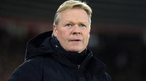 Ronald Koeman, pictured, is not sure what the future holds for James McCarthy