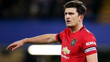 Harry Maguire was on the scoresheet for United (Nigel French/PA)