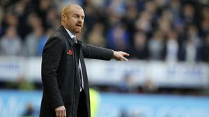 Sean Dyche's men have taken eight points from the past 12 available
