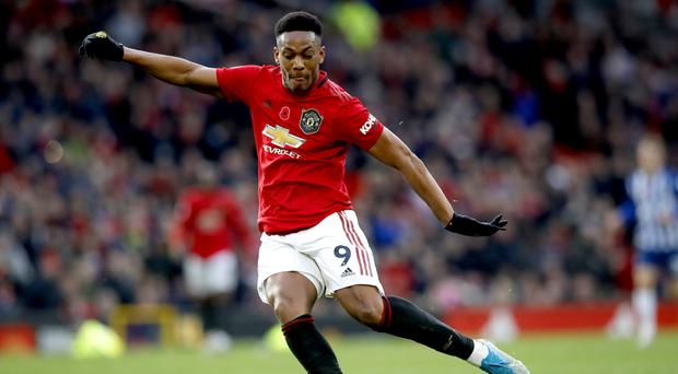Manchester United boss Ole Gunnar Solskaer hopes Anthony Martial will play against Manchester City (Martin Rickett/PA)