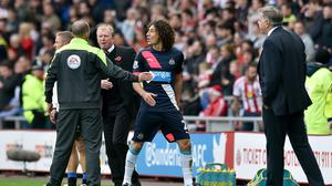 Newcastle have appealed against the red card given to captain Fabricio Coloccini, centre, in Sunday's 3-0 defeat at Sunderland