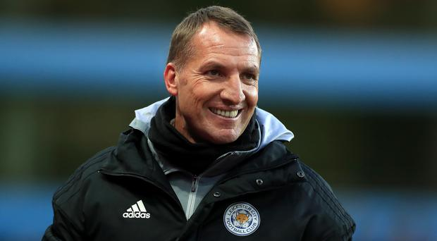 Leicester manager Brendan Rodgers is determined to keep his squad together after an excellent first half of the season (Mike Egerton/PA)
