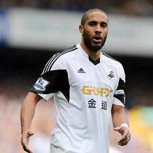 Ashley Williams has impressed at the heart of Swansea's defence