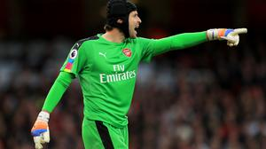Petr Cech saved Arsenal's blushes in the goalless draw with Middlesbrough