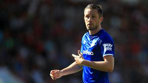 Everton manager Carlo Ancelotti has defended midfielder Gylfi Sigurdsson (Adam Davy/PA)