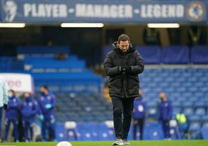 Frank Lampard was shown the door after a run of five defeats in eight league games (John Walton/PA)