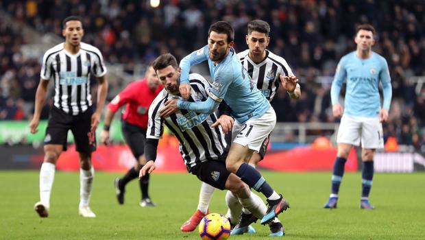 Manchester City suffered a bad defeat at Newcastle last season but recovered to win the Premier League (Richard Sellers/PA)