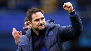 Chelsea manager Frank Lampard is backing his players to secure Champions League football on Sunday (Richard Heathcote/NMC Pool)