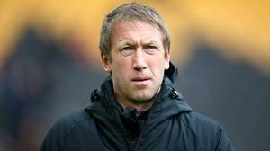 Graham Potter is delighted with the attitude of his players (Nick Potts/PA)