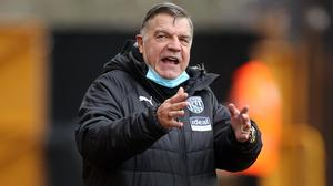Pep Guardiola has high regard for West Brom boss Sam Allardyce (Carl Recine/PA)