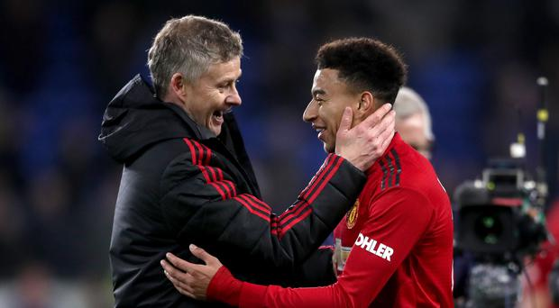 Manchester United midfielder Jesse Lingard has revealed details of his extra family responsibilities (Nick Potts/PA)