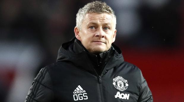 Manchester United are not quite where Ole Gunnar Solskjaer had hoped in their development (Martin Rickett/PA)