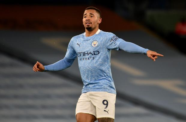 Guardiola expects plenty more goals from Gabriel Jesus in future (Rui Vieira/PA)