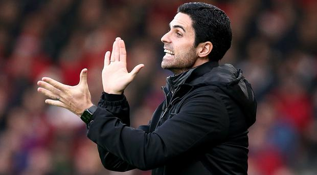 Arsenal manager Mikel Arteta knows it will take time for the team to learn his methods (Mark Kerton/PA)
