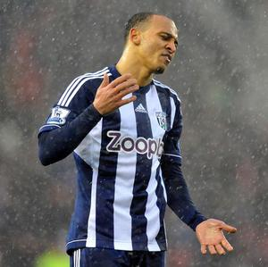 Peter Odemwingie almost left West Brom in January