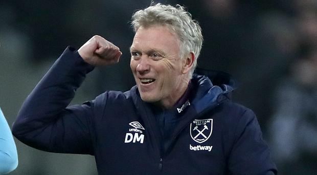 David Moyes' second spell with West Ham was launched in impressive fashion (Bradley Collyer/PA)