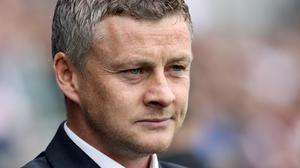 Ole Gunnar Solskjaer was preparing to step into Jose Mourinho's shoes on Wednesday (Phil Cole/PA)
