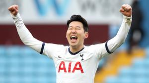Son Heung-min has returned to South Korea as he waits confirmation on whether he can carry out national service (Nick Potts/PA)