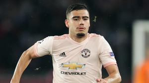 Andreas Pereira is staying at Manchester United for another year (John Walton/PA)
