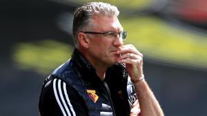 Nigel Pearson faces a critical relegation scrap with West Ham on Friday night (Mike Egerton/NMC Pool/PA)