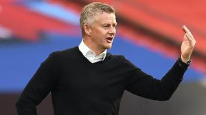 Ole Gunnar Solskjaer expects improvement from Manchester United (Andy Rain/NMC Pool/PA)