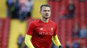 Liverpool goalkeeper Simon Mignolet is looking to leave Anfield (Martin Rickett/PA)